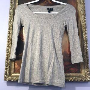 Cynthia Rowley 3/4 length sleeve shirt XS